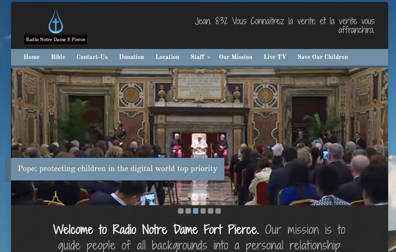 Radio Notre Dame Fort Pierce Fl.